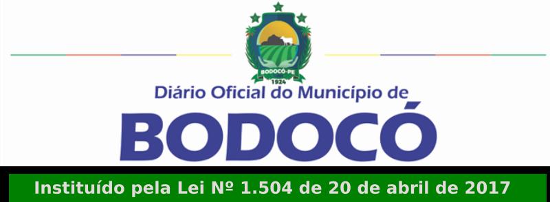 Diário Oficial de Bodocó PE